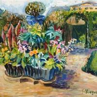 Rundales pils dārzā | Rundale's garden | 2018 | 30x40 | Available