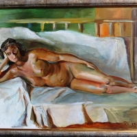Akts | The nude | 2009 | 50x70  | Framed | Available