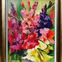 Gladiolas | Gladiolus | 2010 | 30x40 | Not available