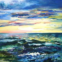 Jūra | The sea | 2012 | 50x60 | Not available