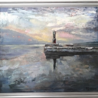 Mols | The pier | 1999 | 100x85 | Available