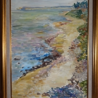 Piekraste | Coastline | 2013 | 40x30 | Not available