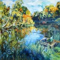 Sakas līcis | The Saka river | 2016 | 90x110 | Not available