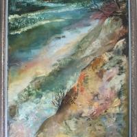 Stāvais krasts | Steep coast | 1994 | 132x98 | Available
