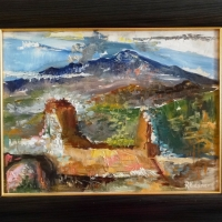 Sicīlija, Taormina | Sicily, Taormina | 2004 | 30x40 | Framed |Available