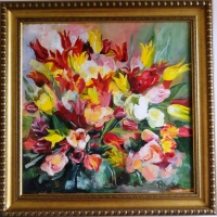 Tulpes | Tulips | 60x60 | Not available